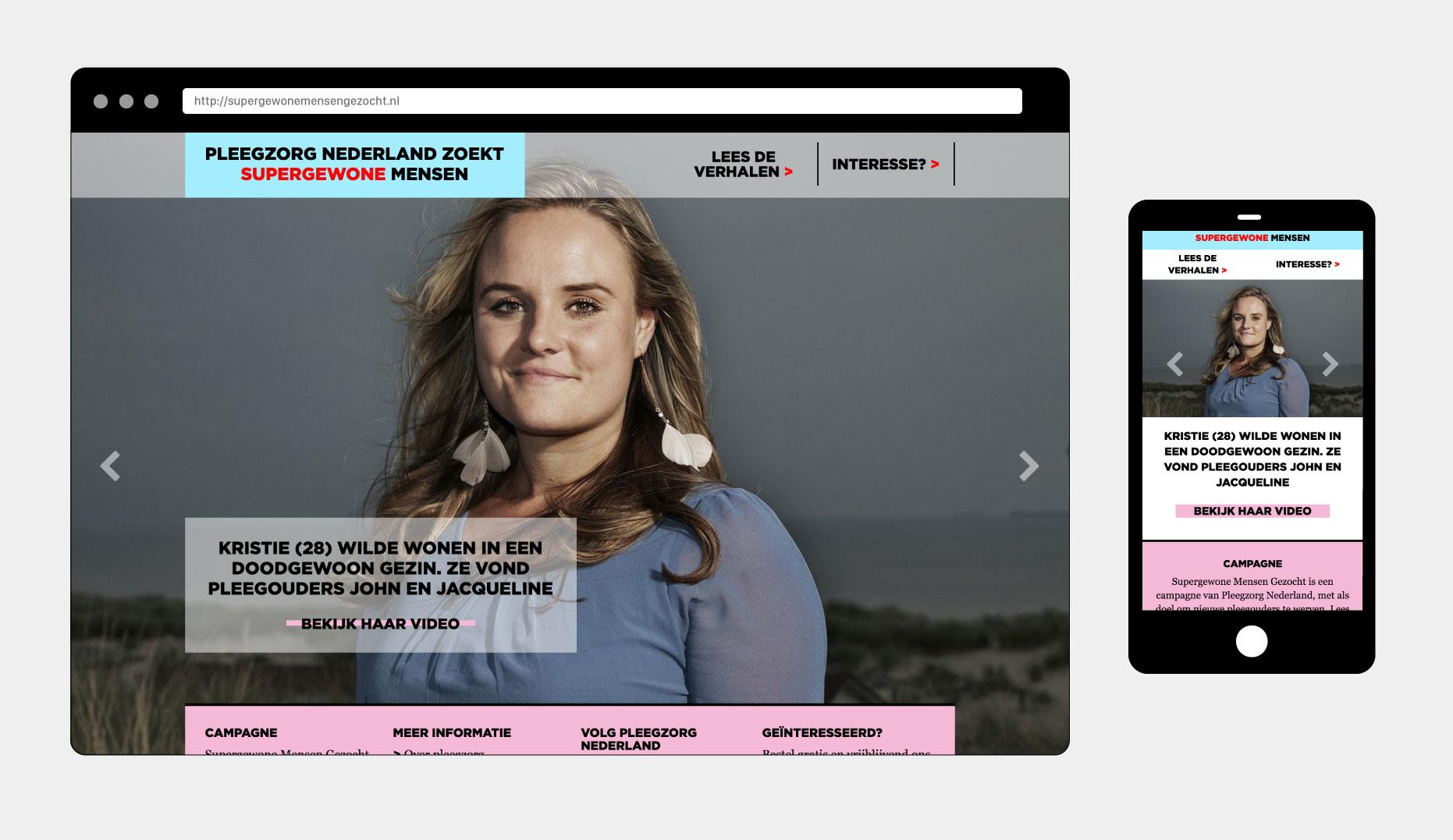 Pleegzorg Nederland - Supergewonemensengezocht.nl - Johnny Wonder